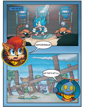 Mobius Legends Issue #1 - Page 4 (Old) by Yarcaz