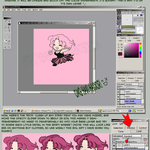 OpenCanvas Coloring Tutorial by yanagi-san