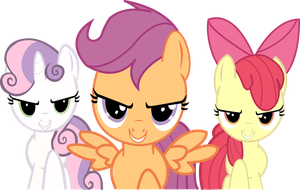 Cutie Mark Crusaders: Hearts strong as horses by Cr4zyPPL