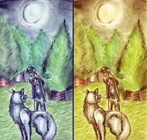 The Whispering Wolf by shylittleghost