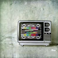 TV brooch by BeautySpotCrafts