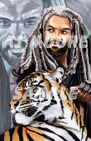 TWD King Ezekiel by ArtistAJMoore by GudFit