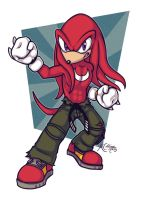 Knuckles Fighter by TricksyPixel