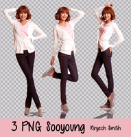 Sooyoung PNG Pack by RiryechSmithYul21