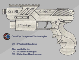 CU-10 Tactical Handgun by Skariaxil