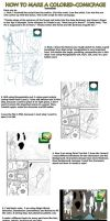 How to make a colored-comicpage digitally by tonyohoho