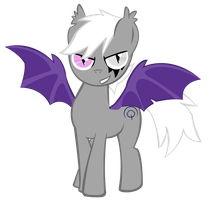 Bat Pony by Shadowpredator100
