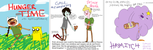 Adventure Time x Hunger Games by commoner-pocky