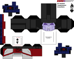 G1 Crosshairs Cubeecraft Template by lovefistfury