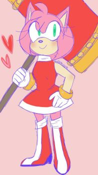 Amy Rose by GumiGuac