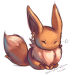 Eevee Sketch...? by Delano-Laramie