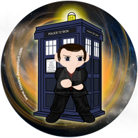 The Ninth Doctor Button by Soseiru