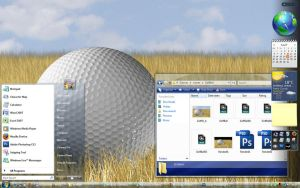 Golf Ball 2.0 Desktop by DJcube