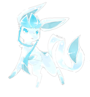 Glaceon by Kureculari