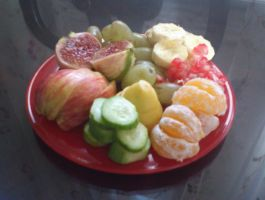 special fruits plate by BENO-70