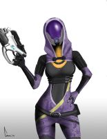 Tali ready to kick ass by Fishbeef