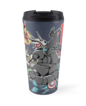 Eevengers: Age of Aggron - travel mug by TheMushman