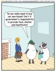 More Liberal Sheep by Conservatoons