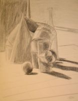 In class still life by MikeWeasel