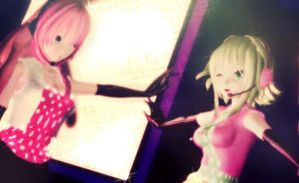 :Rocking Luka and Gumi: by MMD-Angel-Nia