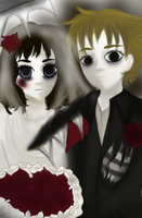 The Corpse Bride and Groom by Baeacnkgi