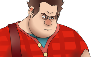 Hhhmmp... - Wreck-it Ralph by AniLover16