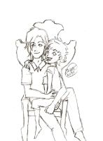 Jasper and Alice sketch by pureness