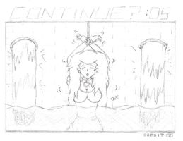 Peach Continue Screen - Water by JC-DiD