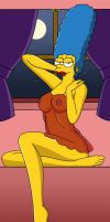 Marge Xmas by PervyAngel