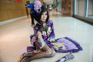 Cosplay: Dynasty Warrior 8 - Shinki 3 by yurkary
