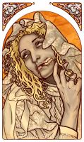 Mucha Zombie by hatefueled