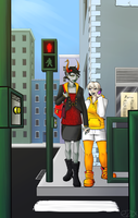 HS: City Streets by EzzyAlpha