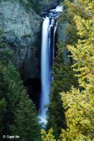 Tower Falls by CrystalAnnPhotos