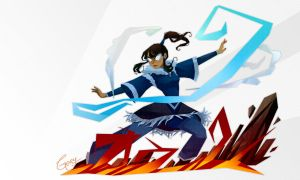 Legend of Korra by geryri