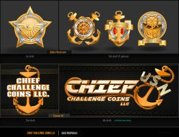 CHIEF CHALLENGE coins logo by jestonischumacher