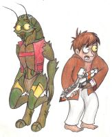 Christopher and Wikus by r2griff2