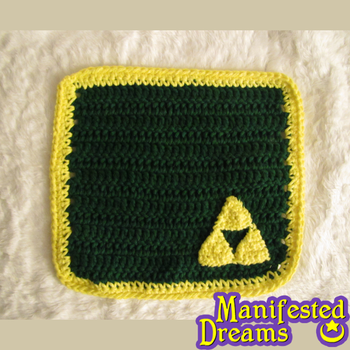Triforce Washcloth by ManifestedDreams