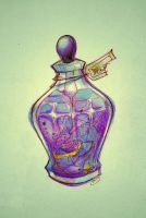 InkBottle(Drawcia) by Mitsuki-Chizu