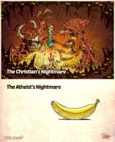 The Christian Nightmare by pixelegion
