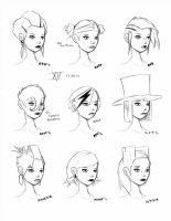 Hair Styles Vol 15 by ron-guyatt