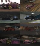 Midnight Club LA Cars by GrahamPhisherDotCom