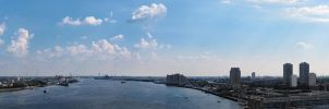 New Jersey View to Philly by ObscuraVista