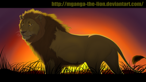 The King by Mganga-The-Lion
