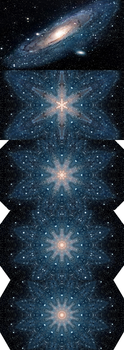 Andromeda Galaxy (m31) - Kaleidoscope (Collection) by asht0n112358