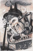 Tom Waits by ChrisMoreno