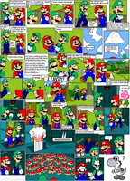 super mario bros page 41 by Nintendrawer