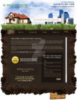 Pest control website by Areeb89