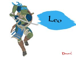 Leo the leader by Domovol