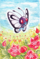 PKM - Butterfree by Wingsie