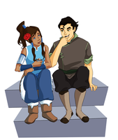 Sharing - Korra by Irrel